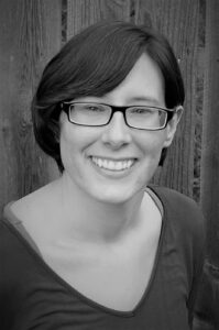 profile photo of author, in grayscale